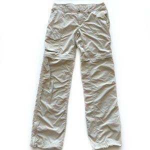 Columbia Pants Convertible Zip Off To Shorts 10L